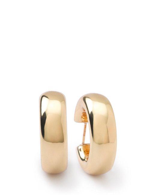 Ippolita - Metallic 18k Glamazon Thick Small Flat Hoop Earrings - Lyst