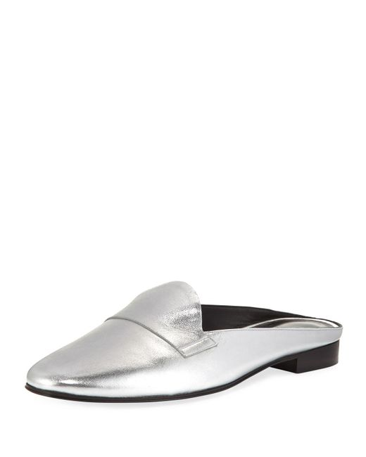 Pierre Hardy | Jacno Metallic Loafer Slide | Lyst
