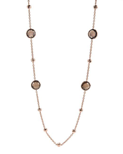 Ippolita   Metallic Rose Mini Lollipop Quartz Necklace   Lyst