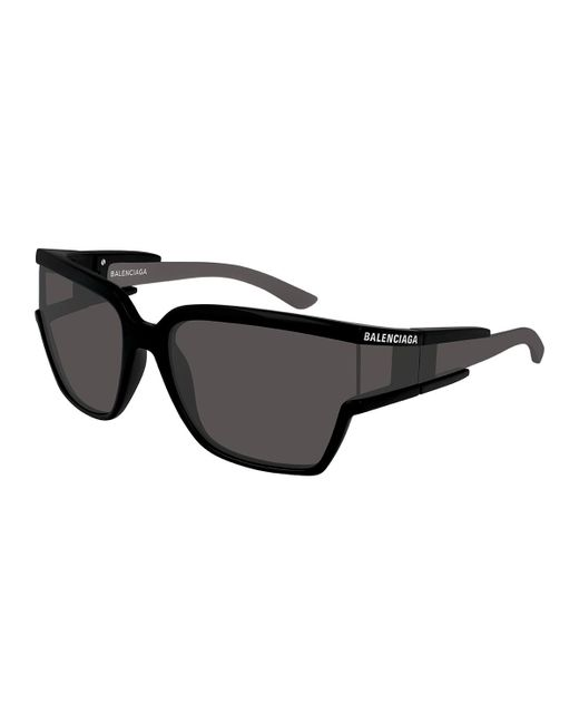 497fbe882d9 Balenciaga - Black Men s Square Unisex Injection Sunglasses for Men - Lyst