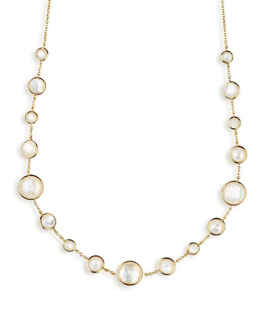 Ippolita - Metallic 18k Gold Rock Candy Lollitini Necklace 16-18 - Lyst