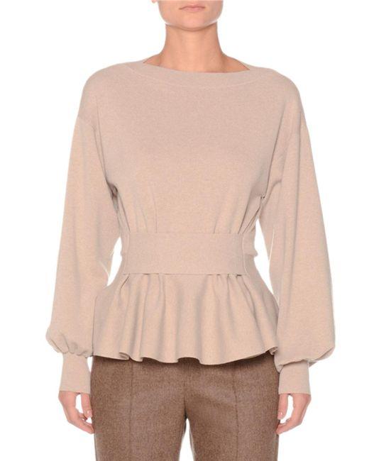 Agnona - Multicolor Full-sleeve Extra Fine Merino Wool Sweater - Lyst