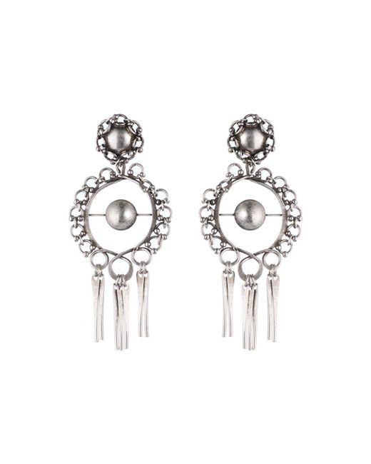 DANNIJO | Metallic Ash Statement Earrings | Lyst