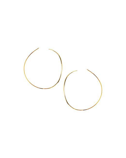 Lana Jewelry   Metallic 14k Elite Small Wave Hoop Earrings   Lyst