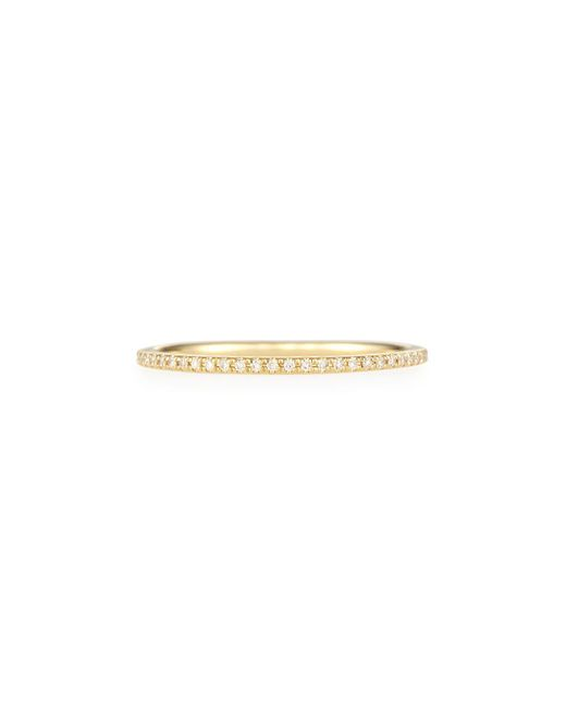 EF Collection - Metallic Diamond Eternity Stackable Ring - Lyst