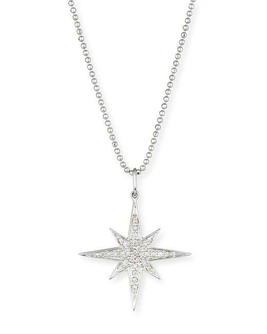 Sydney Evan | Multicolor Diamond Starburst Pendant Necklace | Lyst