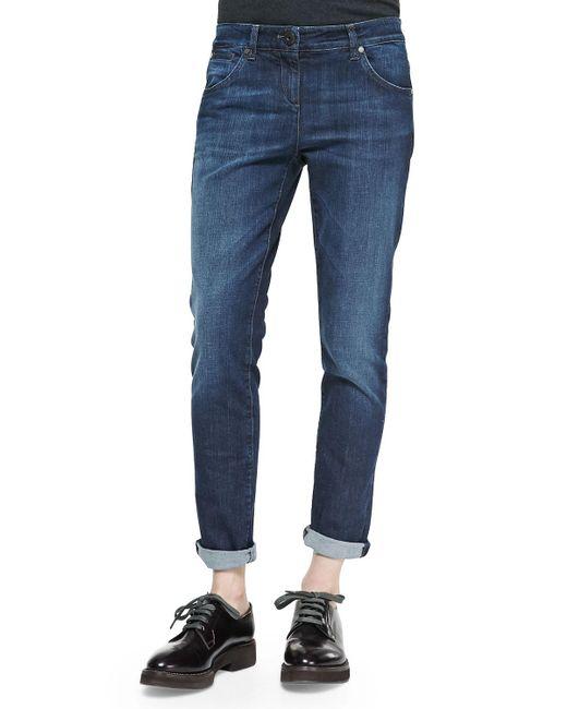 Brunello Cucinelli | Blue Dnm 5pkt Jean for Men | Lyst