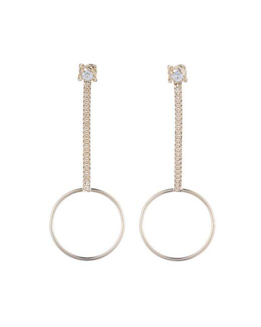 DANNIJO | Metallic Yandal Crystal Statement Earrings | Lyst