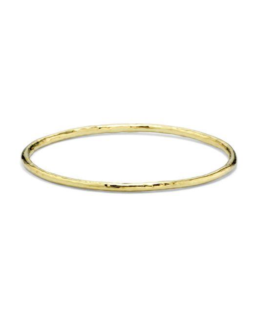Ippolita - Metallic 'glamazon' 18k Gold Bangle - Lyst