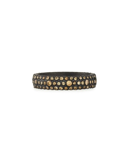 Armenta | Metallic Old World Champagne Diamond Stackable Eternity Ring | Lyst
