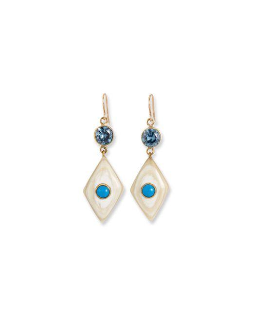 Ashley Pittman - Multicolor Ngome Diamond-shaped Drop Earrings - Lyst