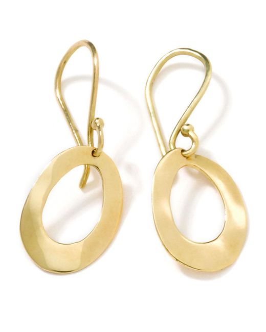 Ippolita | Metallic Ge012 18k Single Oval | Lyst