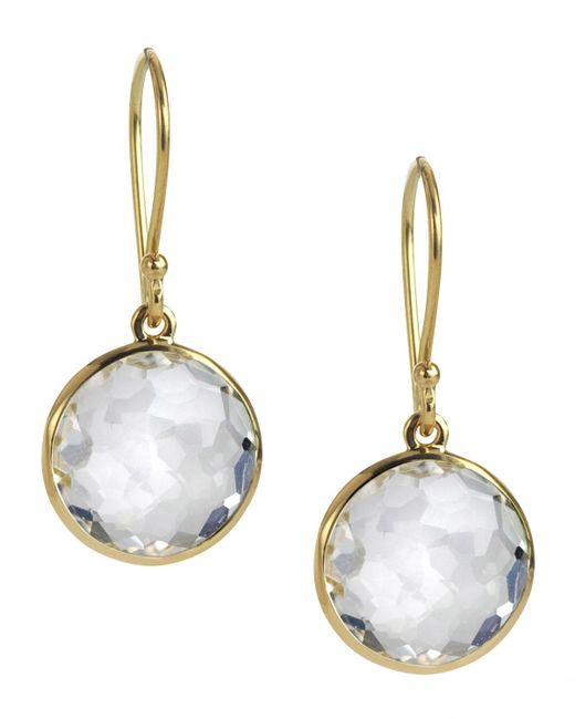 Ippolita - Yellow Mini Lollipop Earrings - Lyst