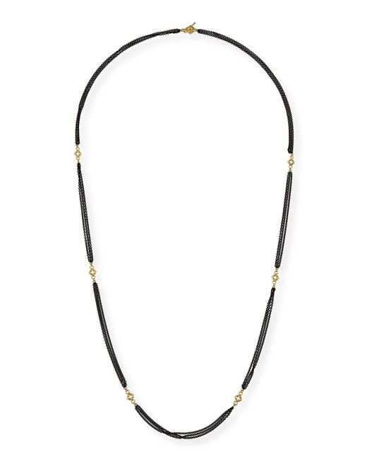 Armenta | Metallic Old World Cable Chain Necklace With Diamonds | Lyst