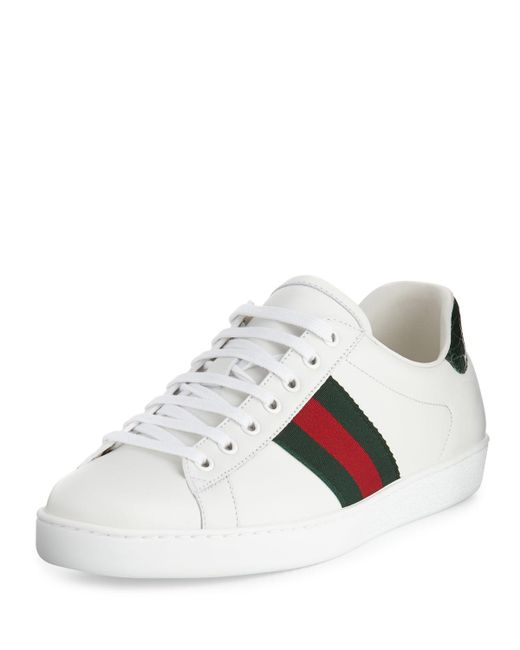 Gucci | White New Ace Sneaker | Lyst