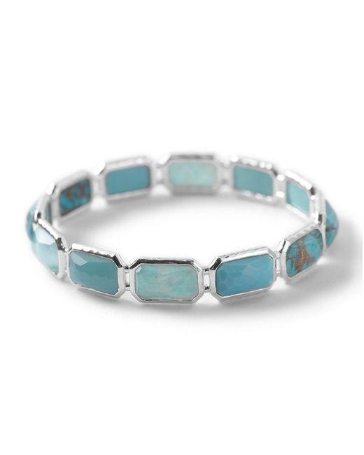 Ippolita | Blue Wonderland Silver Brick Bangle | Lyst