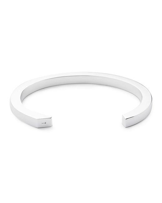 Miansai | Metallic Ipsum Medium Silver Cuff Bracelet | Lyst