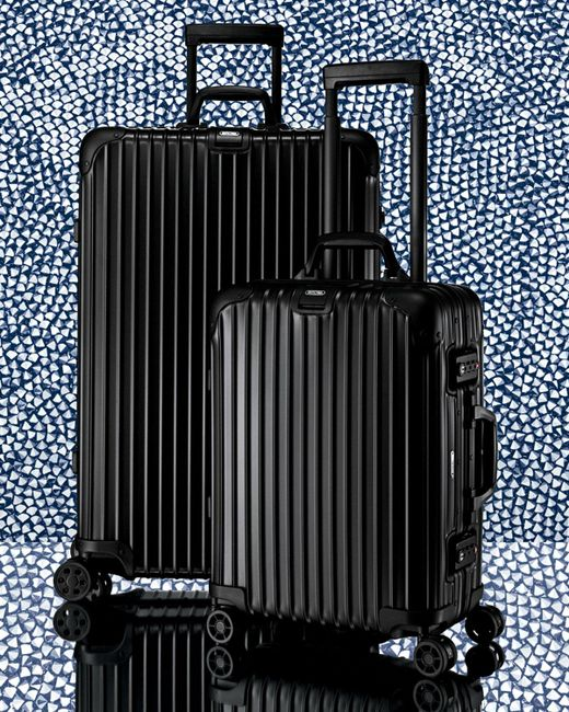 rimowa topas stealth 32 multiwheel in black lyst. Black Bedroom Furniture Sets. Home Design Ideas