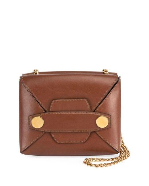 Stella McCartney | Brown Alter Faux-leather Shoulder Bag | Lyst