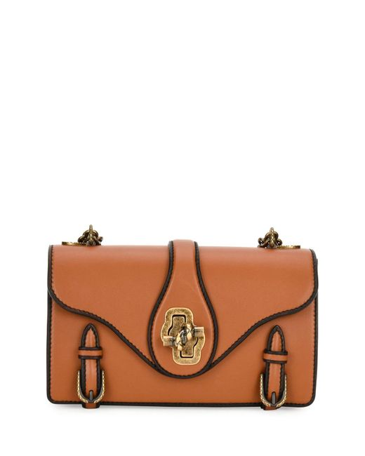 Bottega Veneta | Brown City Knot Leather Shoulder Bag | Lyst