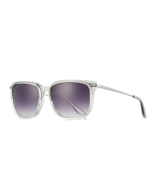 Barton Perreira | Multicolor Prouvé Square Acetate Sunglasses | Lyst