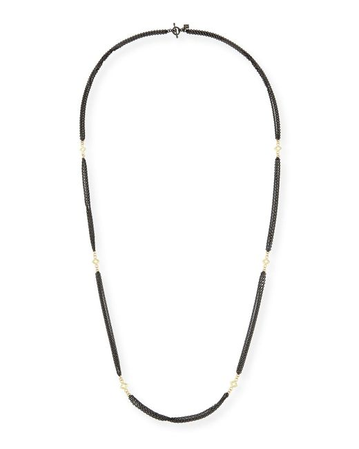 Armenta | Metallic Old World Three-strand Cable Chain Necklace | Lyst