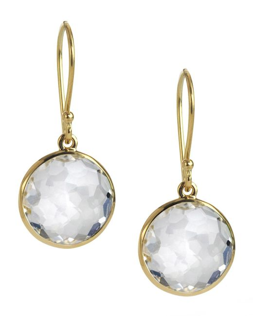 Ippolita | Yellow Mini Lollipop Earrings | Lyst