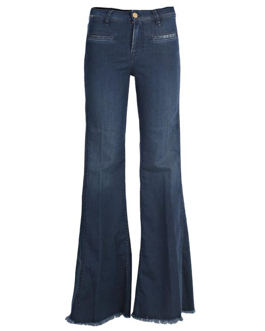 Don't Cry - Blue Jeans Vita Alta Zampa Bell Bottom - Lyst