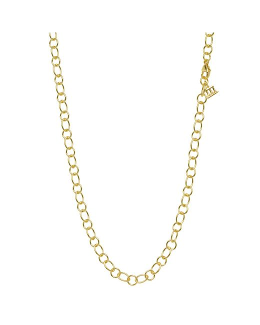"""Temple St. Clair - 18k Yellow Gold """"ribbon"""" Chain Necklace - Lyst"""