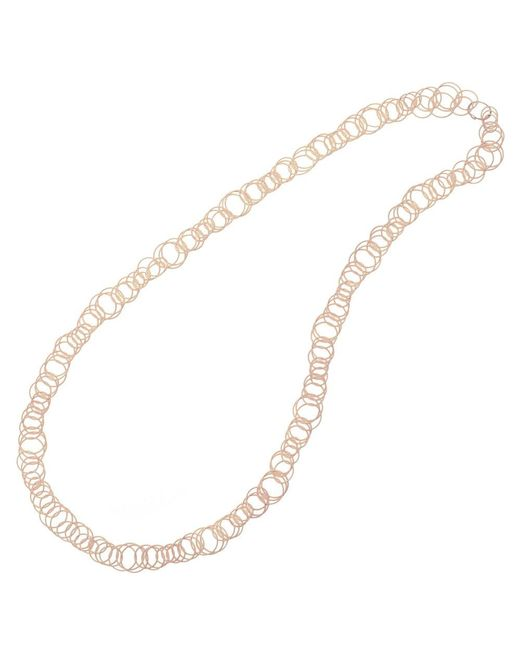 """Buccellati - 18k Pink Gold """"hawaii"""" Long Necklace - Lyst"""