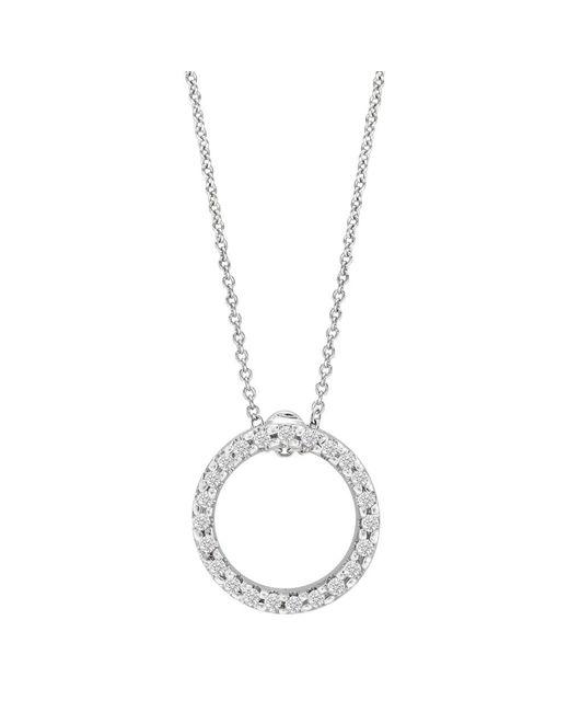 "Roberto Coin - Multicolor Diamond ""tiny Treasures"" Circle Pendant - Lyst"