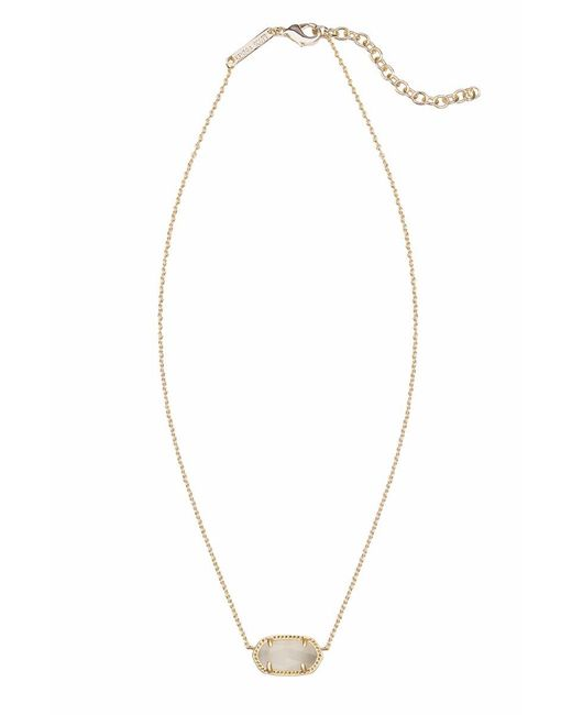 Kendra Scott - Metallic Elisa Necklace - Lyst