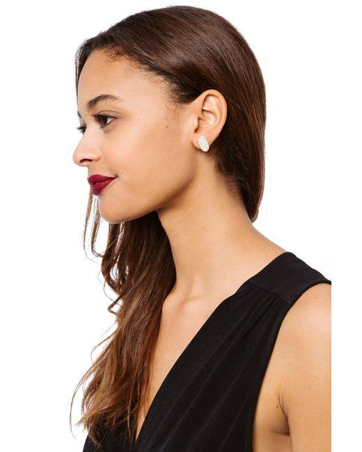 Kendra Scott - Multicolor Ellie Stud Earring/ Gold Iridescent - Lyst