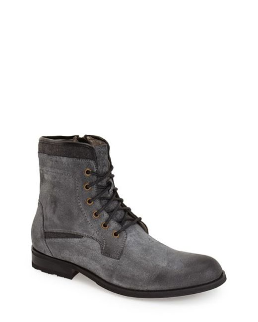 Joe's Jeans | Gray 'mitch' Plain Toe Boot for Men | Lyst