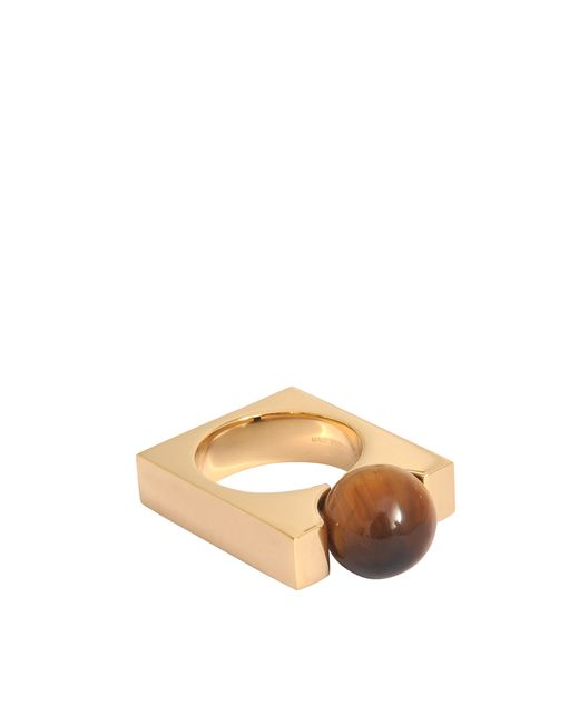 Chloé | Pink Square Darcey Tiger Eye Ring | Lyst