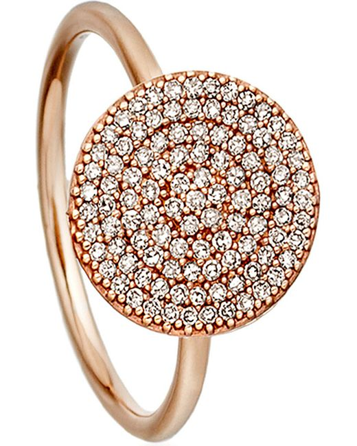 Astley Clarke | Pink Icon Rose-gold And Diamond Ring | Lyst