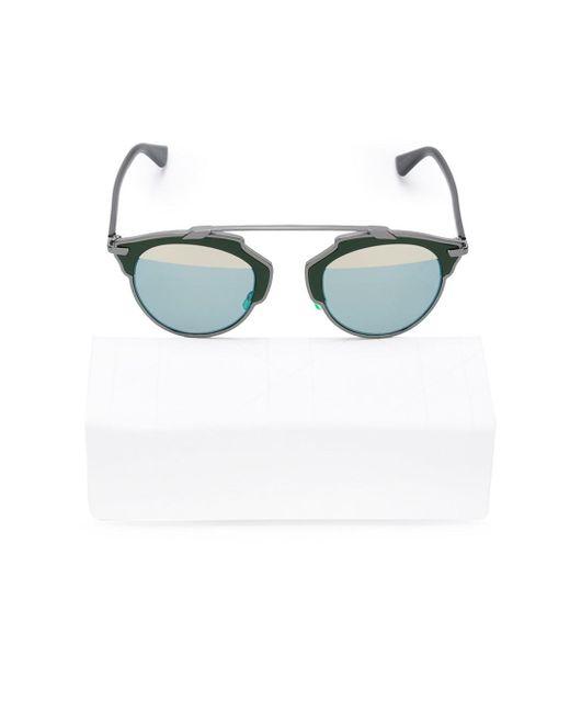 Dior | Silver 'so Real' Sunglasses | Lyst