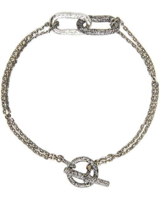 Pearls Before Swine   Metallic Silver Link Bracelet for Men   Lyst