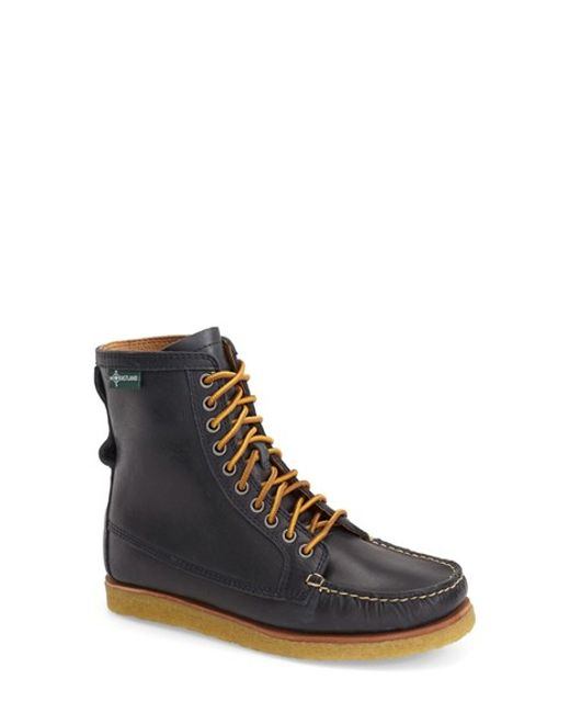 Eastland | Blue 'mackenzie 1955' Crepe Sole Lace-up Moc Boot | Lyst