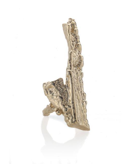 Noritamy | Metallic Bagana Yellow Gold Ring | Lyst