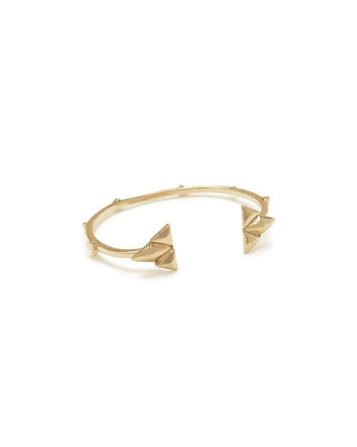 Bing Bang - Metallic Double Trident Cuff - Lyst