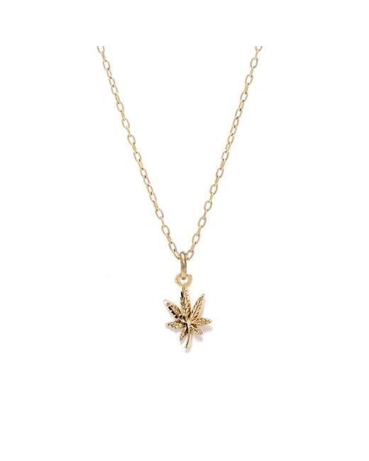 Bing Bang - Metallic Mary Jane Necklace - Lyst