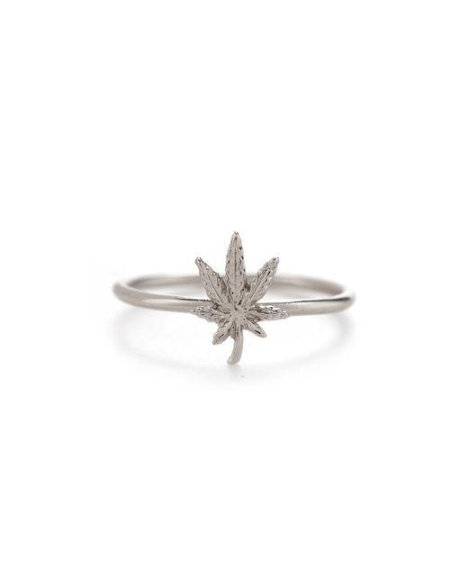 Bing Bang | Metallic Mary Jane Ring | Lyst