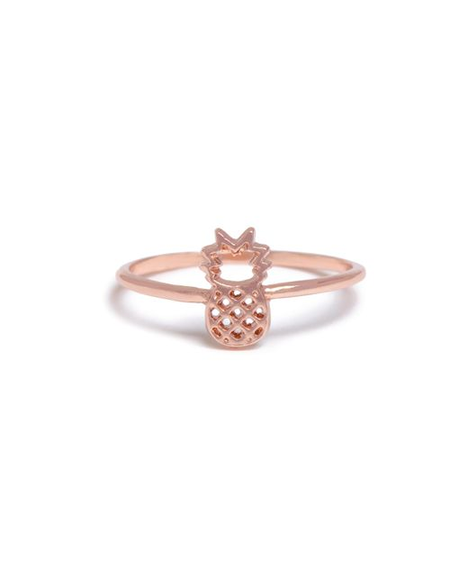 Bing Bang - Pink Pineapple Ring - Lyst