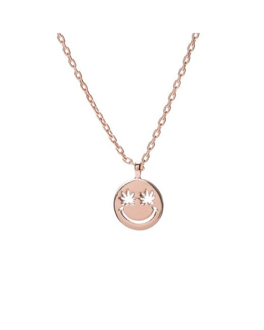 Bing Bang - Metallic Happy Eyes Necklace - Lyst
