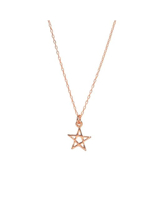Bing Bang | Pink Star Necklace | Lyst