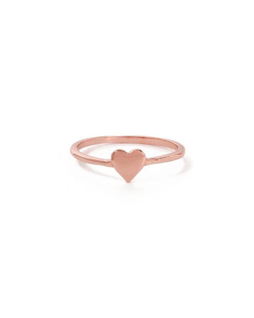 Bing Bang - Pink Heart Ring - Lyst