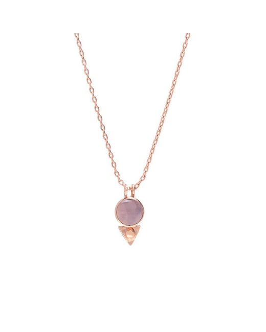 Bing Bang   Pink Earth Amulet Necklace   Lyst