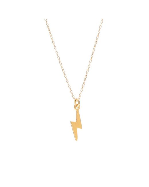 Bing Bang - Yellow Lightning Bolt Necklace - Lyst