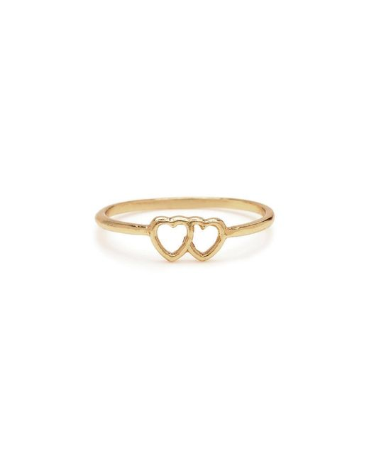 Bing Bang - Metallic Tiny Loved Up Ring - Lyst